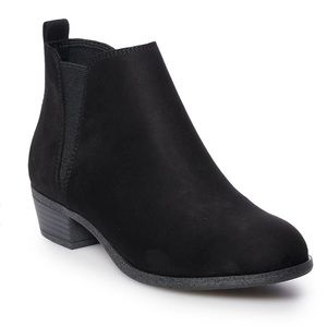 SO Hanno BLACK Women's Ankle BOOTS